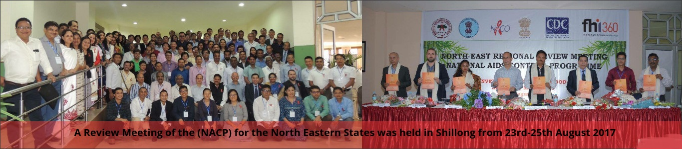 A Review Meeting of North Eastern states